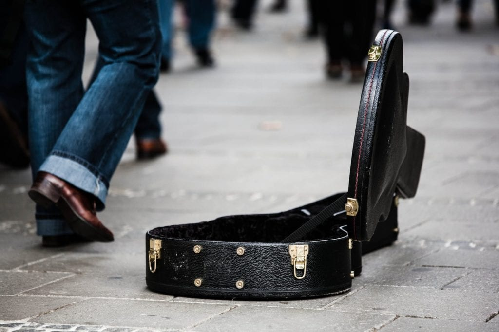 Busking Away Is A Passion Of A Chosen Few
