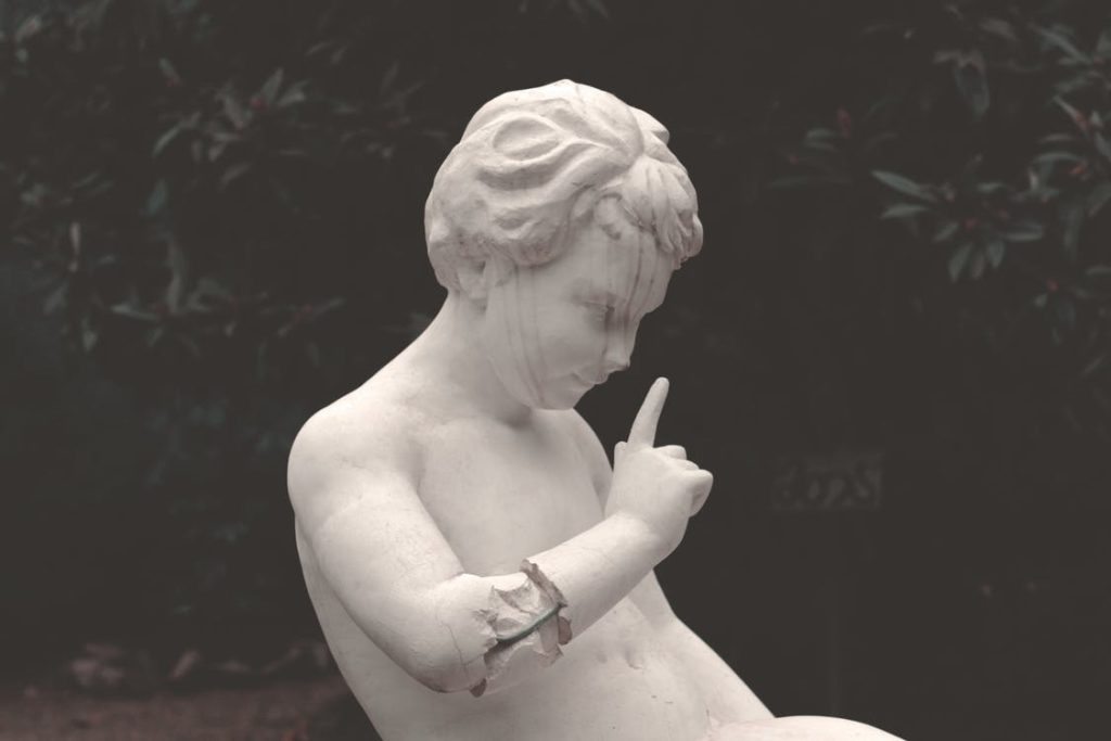 Love For Art And Inspirational Sculpture