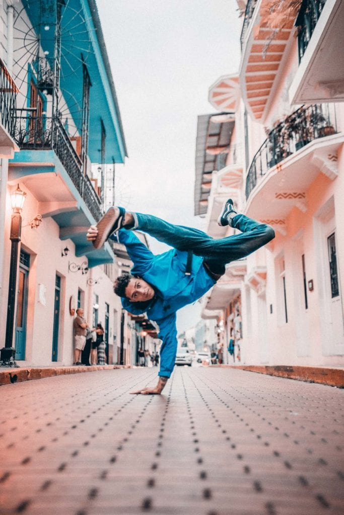 Break-Dance Is Symbol Of A Free Spirit.
